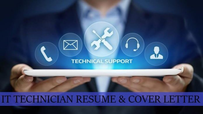IT Technician cover letter writing