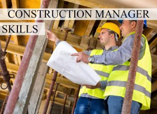 Construction manager skills