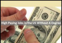 jobs in the us without a degree