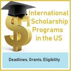 International Scholarship Programs in the US