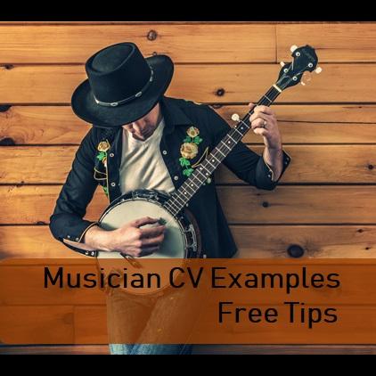musician CV writing